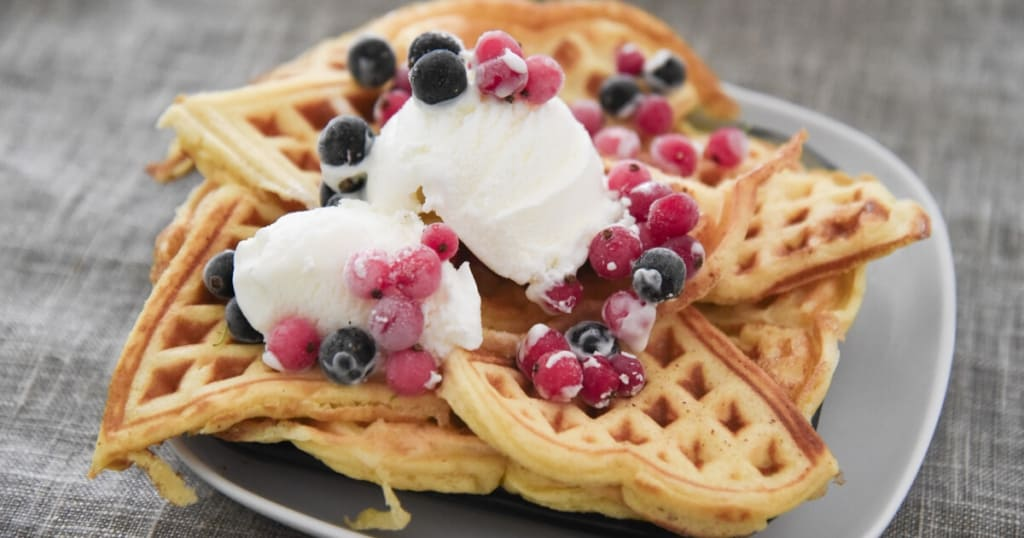 Wafels toppings